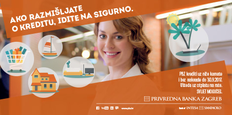 A new PBZ campaign conveys the main advantages of its loans