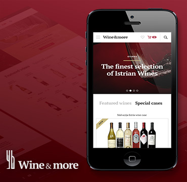 Wine & more – web shop for all wine lovers