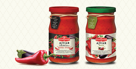 The new look of Podravka ajvar to conquer global markets!